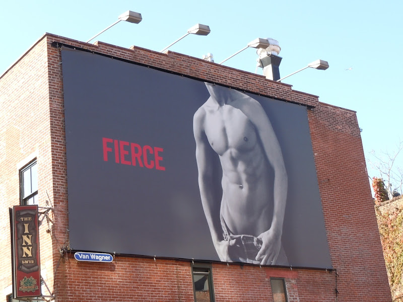 Abercrombie Fierce torso billboard