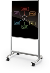 Magnetic White Board On Wheels