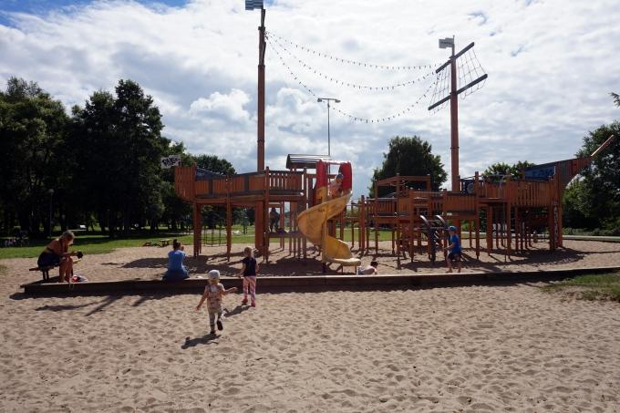 Stroomin uimarannan leikkipaikat / Tallinnan parhaat / lapsiperheen kokemuksia