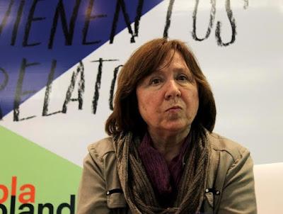 Svetlana Alexievich por Alirio Guisa