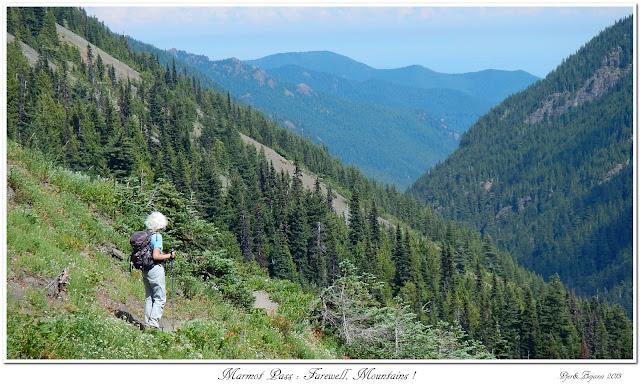 Marmot Pass: Farewell, Mountains!