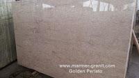 Marmer Ujungpandang Golden Perlato