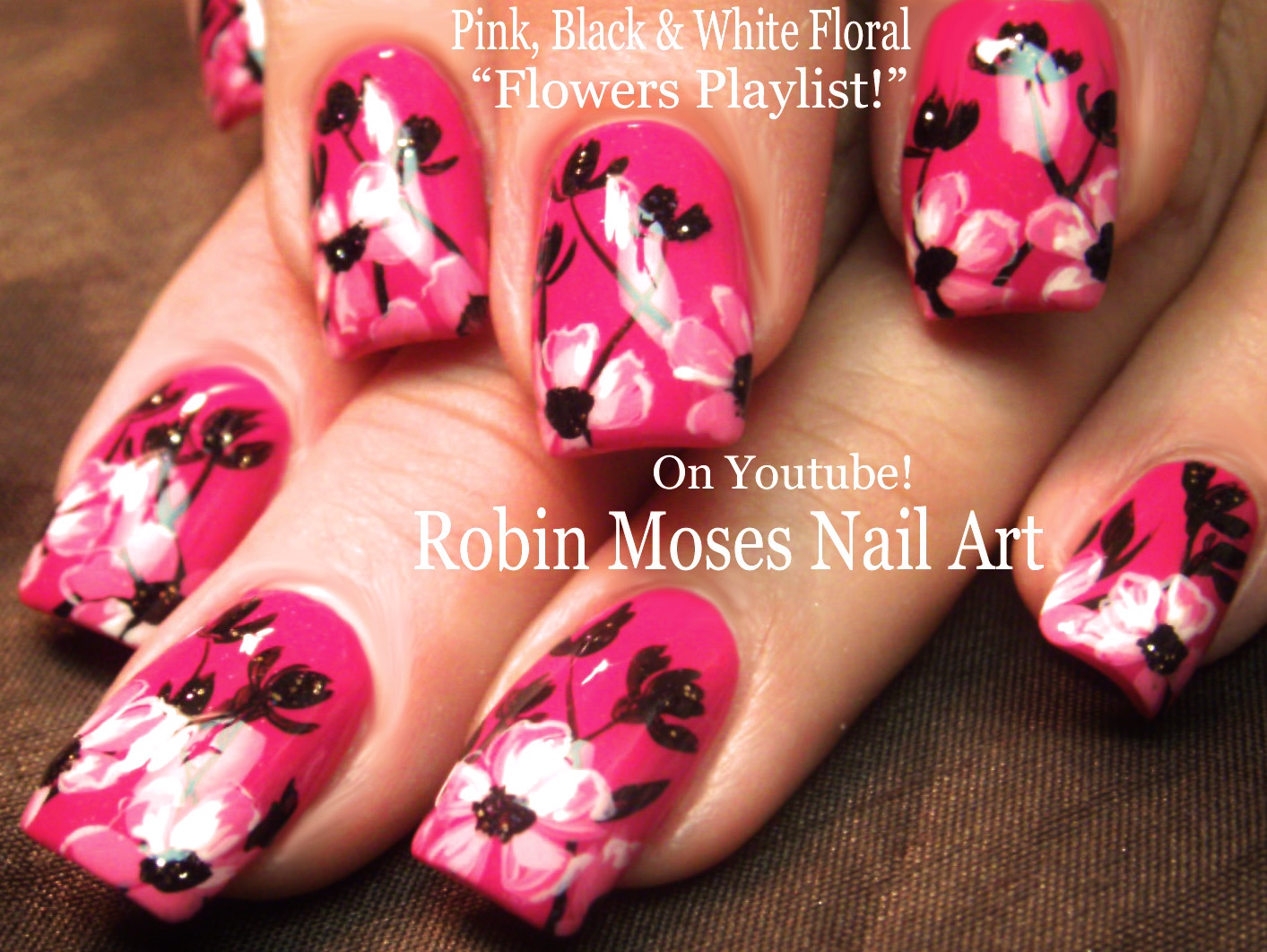 Nail Art By Robin Moses Rainbow Curls On Lavender Tips Nail Art