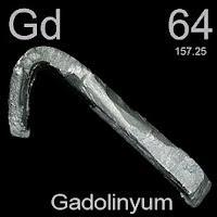 Gadolinyum Elementi Simgesi Gd