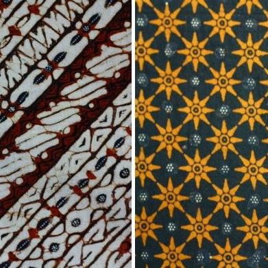 Udan Liri Yogya (kiri) dan Truntum Solo (kanan).Untuk batiknya ec6d7e6f91