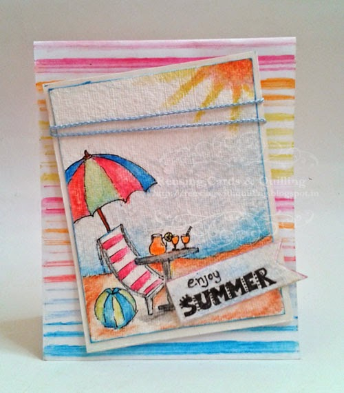 http://reusingwithquilling.blogspot.in/2014/04/enjoy-summer.html