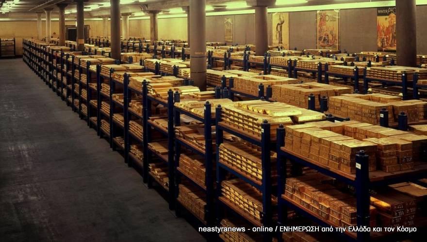 Η Μπούντεσμπανκ γεμίζει με ράβδους χρυσού τα θησαυροφυλάκια της - Τι φοβάται το Βερολίνο;