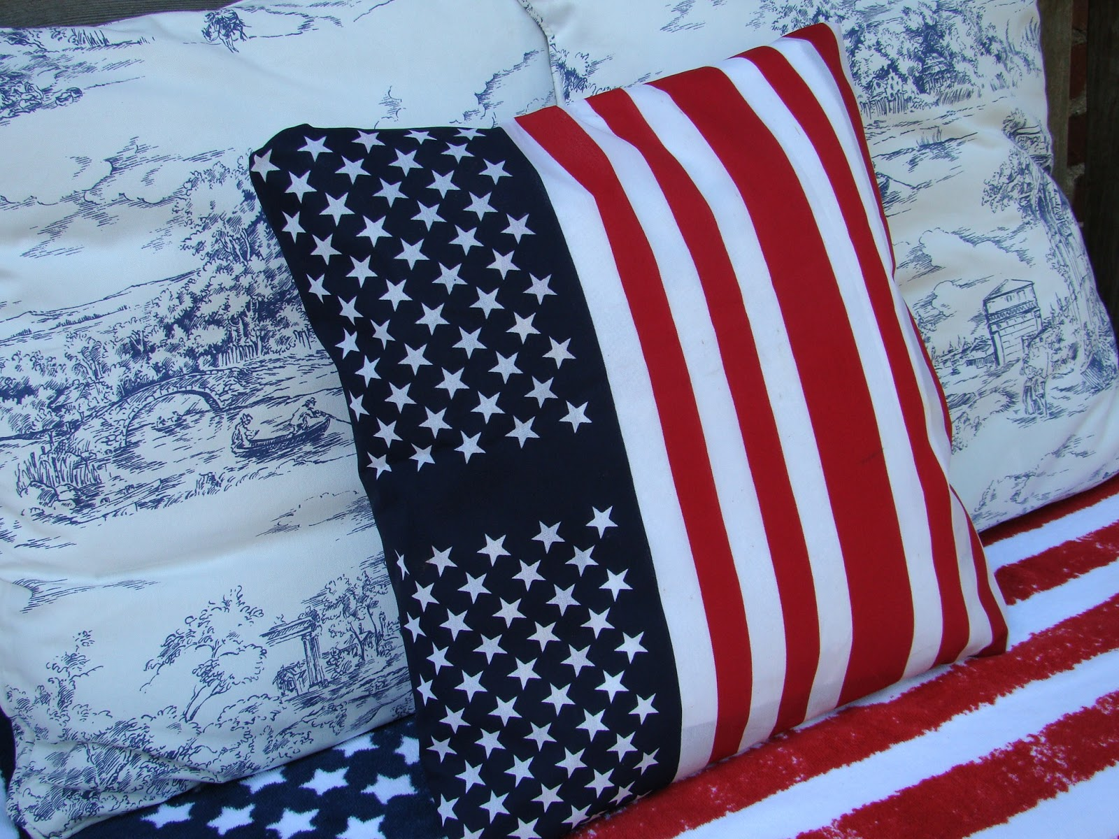 Knockoffs Pottery Barn American Flag Pillow And Target