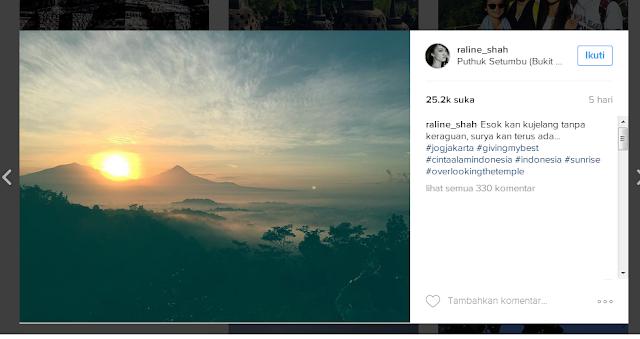 Raline Shah dihujat netizen gara-gara foto di instagramnya