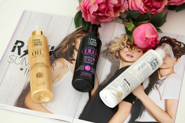 Prodotti capelli fiori e ragazze