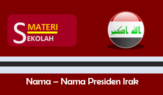 Daftar Nama Presiden Irak dari masa ke masa (Terlengkap)