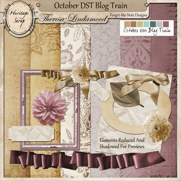 Forget Me Nots Design: October 2011 DST Blog Train ~ Welcome