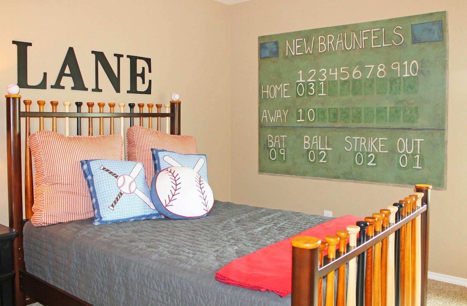 The Ragged Wren Baseball Boys Room