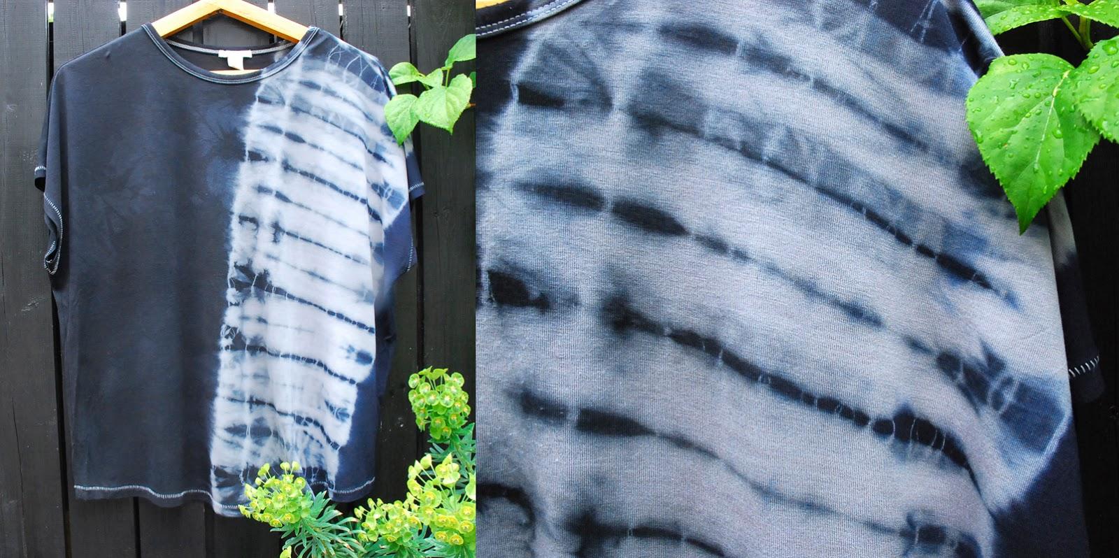 rot-gelb-blau.blog: neue färbung in shibori technik