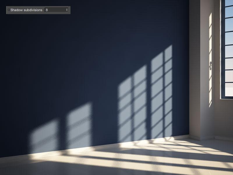 problema grana ombre physical sun vray