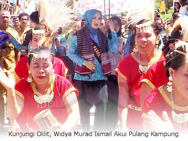 Kunjungi Olilit, Widya Murad Ismail Akui Pulang Kampung