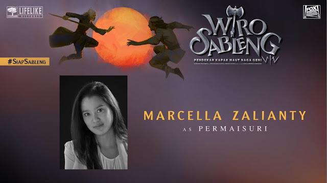 Marzella Zalianty sebagai Permaisuri/ Sumber foto @LifeLikePictrs