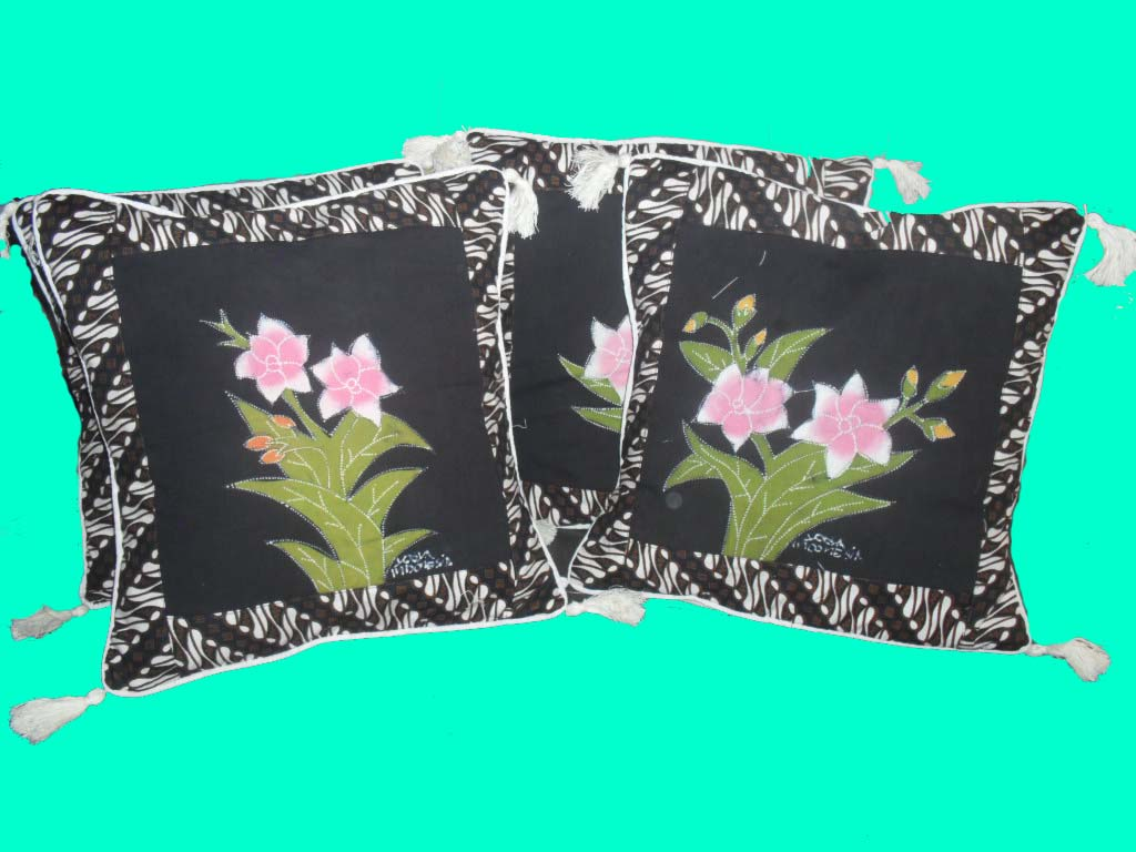 Sarung bantal lantai dan kursi sarung bantal batik