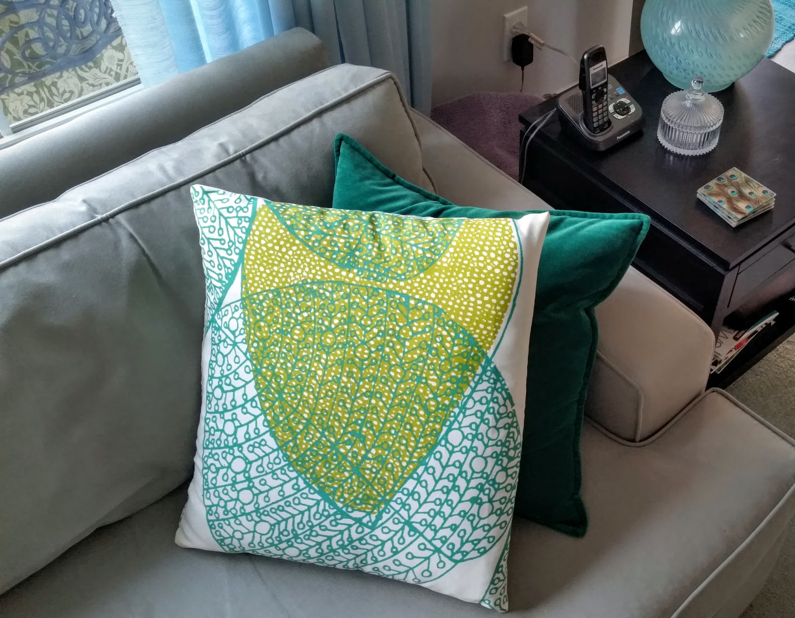 Sewbaby News Summer Pillow And Table Cloth Refresh