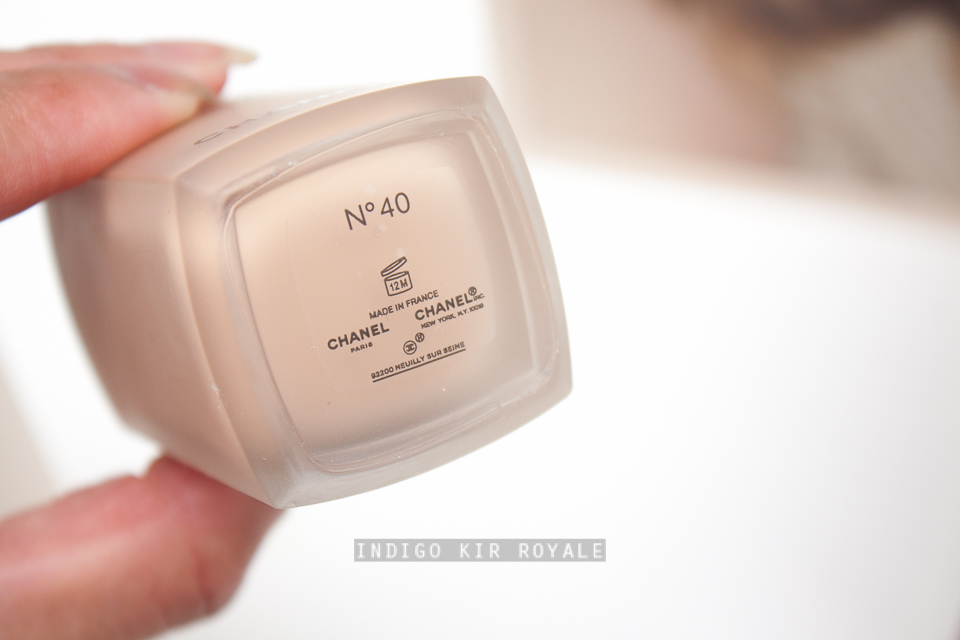 4e687c2a05 CHANEL LES BEIGES HEALTHY GLOW FOUNDATION SPF 25 / PA++ | Indigo Kir ...