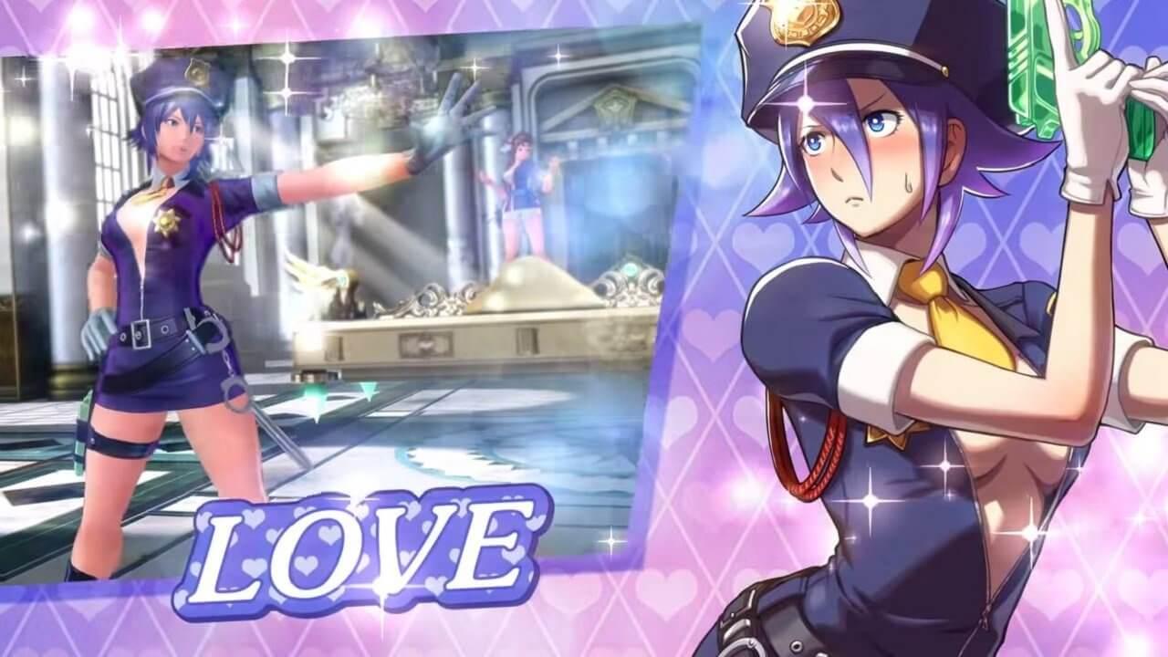 """Salah Satu Karakter SNK Heroines tag Team Frenzy Sang Sky Pirate """"Love Heart"""" Mendapatkan Trailer Khusus"""