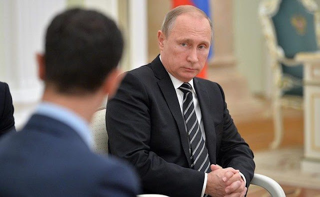 """بوتين في رسالة سرية للرئيس الأسد: السعودية و من ورائها سيفتحون باب جهنم على أنفسهم """""""