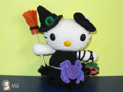 Hello Kitty de Halloween.