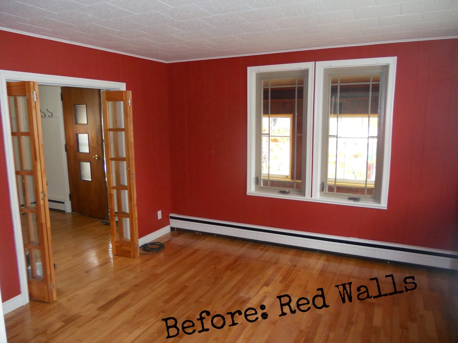I See A Red Wall And Want It Painted Any Other Color But