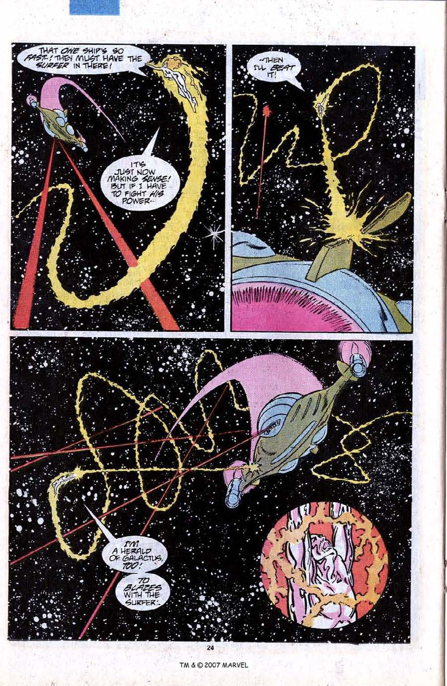 Read online Silver Surfer (1987) comic -  Issue #12 - 26