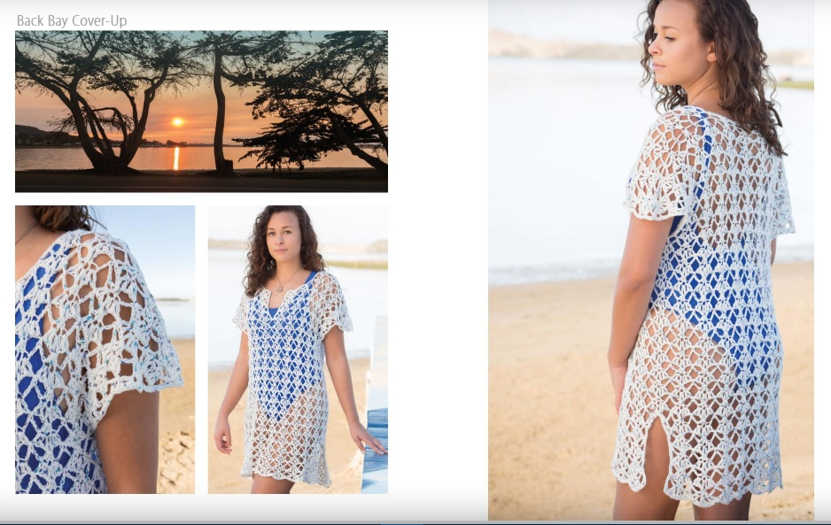 Back Bay Beach Cover-Up Crochet Pattern