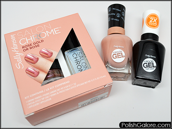 Sally Hansen Has Been Stepping Up Their Nail Art So I Was Excited When They Came Out With Chrome Powders For Consumer Use