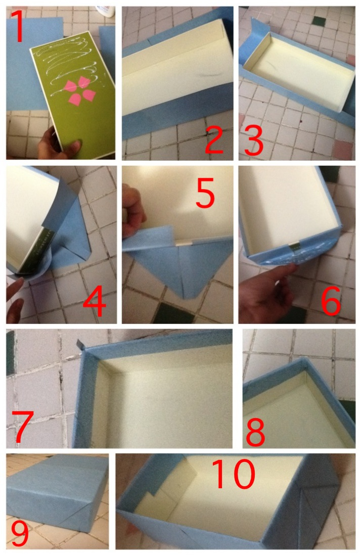 Diy Storage Box Using Shoe Box Weekly Projects