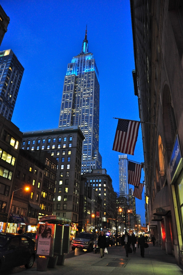 Picture of the Empire State Building, New York City