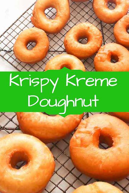 Krispy Kreme Doughnut  #KrispyReceipes  #KrispyKremeReceipes  #KremeDoughnutReceipes