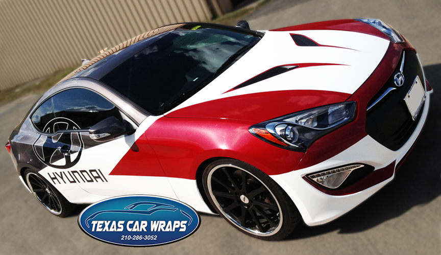 Carbon fiber graphics and metallic film decal vehicle wrap san antonio texas