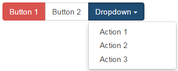 bootstrap nested button groups