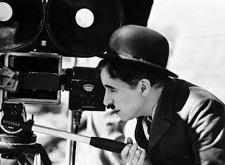 Charles Chaplin durante los rodajes