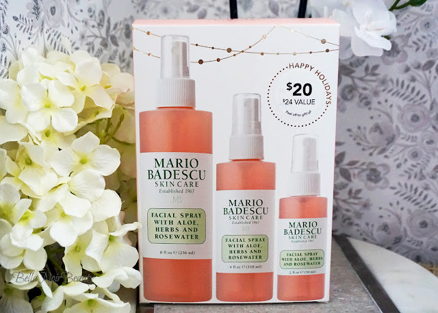 Mario Badescu Facial Spray with Aloe, Herbs & Rosewater Trio | bellanoirbeauty.com