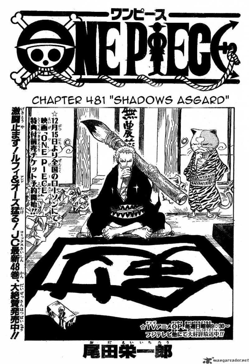 One Piece 481