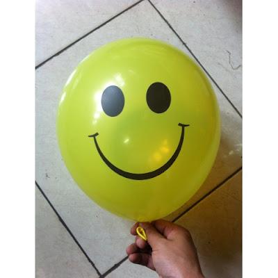 Balon Print Smile