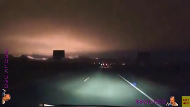 meteor falling in Khakassia issouvideo