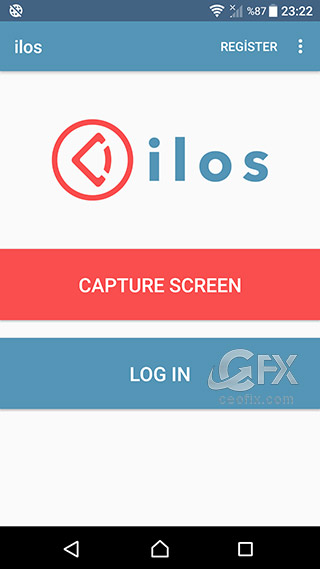 android ilos capture screen-www.ceofix.com