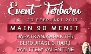 Event Point Blank Special Hari Valentine (Maintenance 14 Februari 2017)