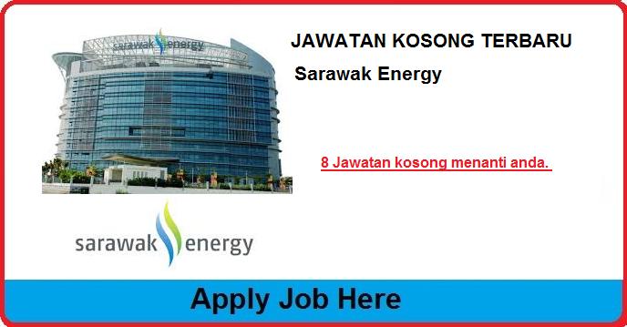 jawatan kosong terbaru sarawak energy apply job here
