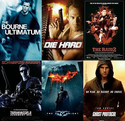 Genre action menjadi salah satu genre film paling terkenal Daftar 25 Film Action Terbaik Sepanjang Masa Terbaru