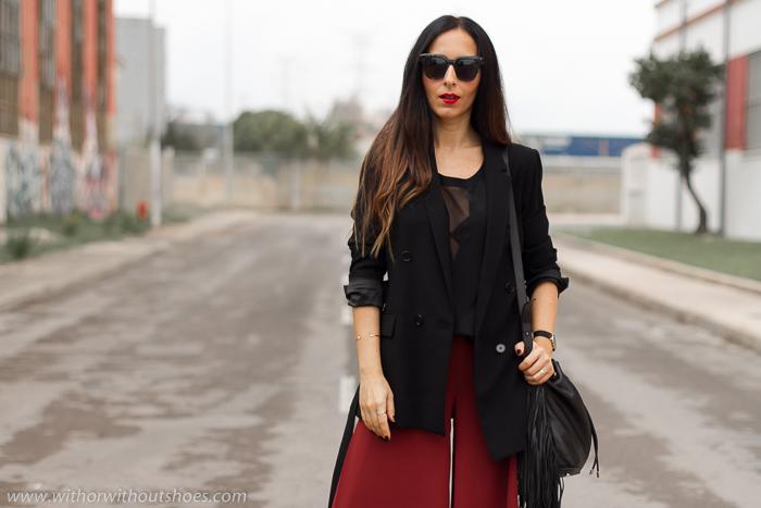 BLogger influencer de moda belleza valenciana con zapatos Isabel Marant