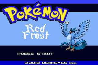 pokemon red frost cover
