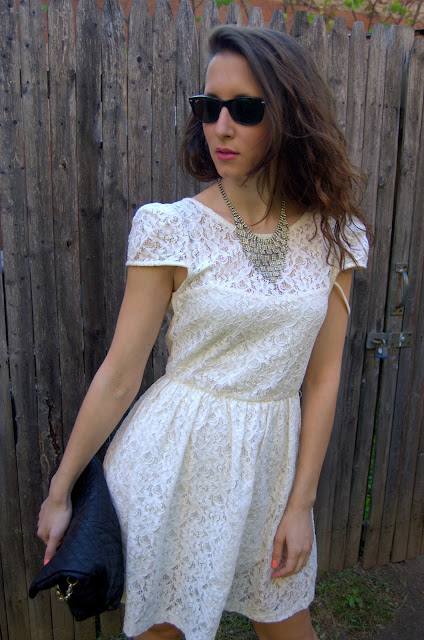 Fashion And Beats Real How To Wear A White Lace Dress