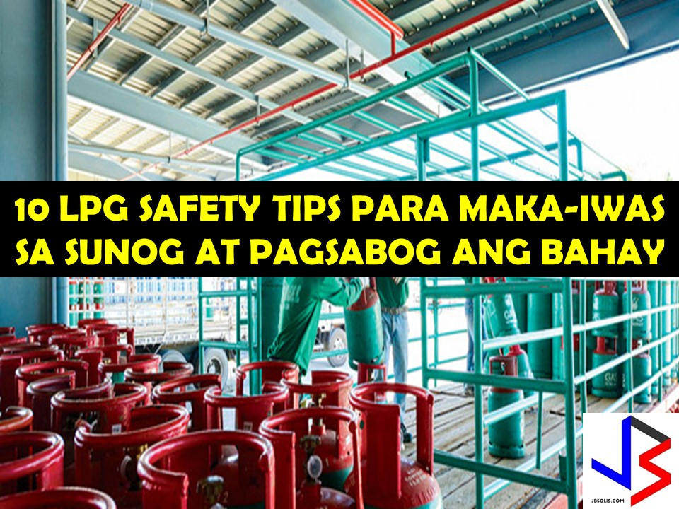 If not properly maintained, liquefied petroleum gas (LPG) tanks can be a fire hazard and can cause damage to properties even to life.  For many years, there are notable cases of fire from faulty cylinders or LPG tanks.  We can secure our homes from this disaster if we know some safety tips for our LPG tanks that may save our properties and ourselves.