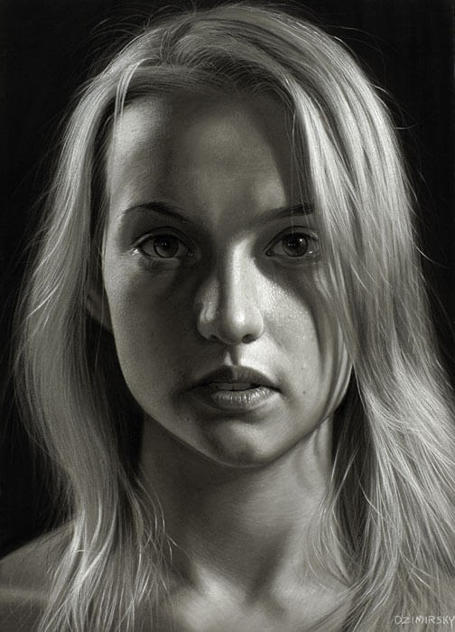 10-Voyeur-Dirk-Dzimirsky-Charcoal-and-Pencil-Portrait-Drawings-www-designstack-co